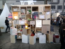 Bioplastics Display, DMY Maker Lab, Photo Mendel Heit