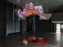 Installation View For Those Who Stand at Shorelines by Luiza Prado de O. Martins. Photo Luca Girardini, CC NC-SA 4.0