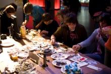 """Impression of """"Feminist DIY Workshop"""""""