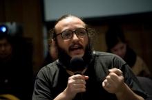 """Picture of Salvatore Iaconesi at """"Social ID - Focus Discussion"""""""