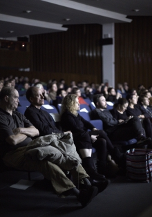 """Picture of Audience at  """"Freedom of Information in Reverse: A Screening and Discussion of SILENCED"""""""