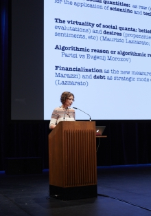 "Picture of Tiziana Terranova at ""Keynote Capture All_Work"""