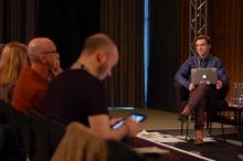 "Picture of Christian Ulrik Andersen at ""Post Digital Research"""