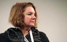 """Renée Ridgway at """"Machine Research – Infrastructures"""", transmediale 2017"""