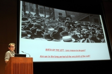 "Robert Latham at ""Friendly Fire: What Is It to Re-think Radical Politics, Today?"", transmediale 2017"