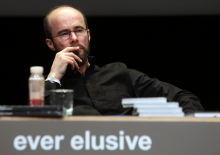 """Krystian Woznicki at """"Friendly Fire: What Is It to Re-think Radical Politics, Today?"""", transmediale 2017"""