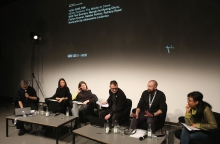"Impression of ""Middle Session: The Middle to Come"", transmediale 2017"