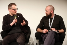 "Florian Cramer in conversation with Finn Brunton at ""Middle Session: The Middle to Come"", transmediale 2017"