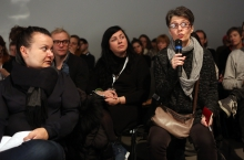 """Audience at """"Middle Session: The Middle to Come"""", transmediale 2017"""