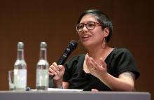 "Dorothy R. Santos at ""Singularities"", transmediale 2017"