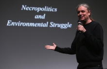 "Steve Kurtz at ""Strange Ecologies: From Necropolitics to Reproductive Revolutions"", transmediale 2017"