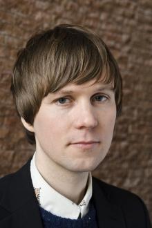 Portrait of Kristoffer Gansing, artistic director of transmediale 2012