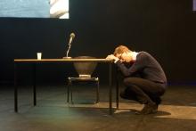 "Viola at ""BWPWAP Desire Eier Haben"", transmediale 2013 BWPWAP."