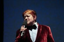 "Diane Torr performing at ""BWPWAP Desire Eier Haben"", transmediale 2013 BWPWAP."