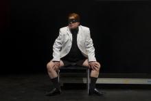 "Diane Torr performing in ""BWPWAP Desire Eier Haben"", transmediale 2013 BWPWAP."