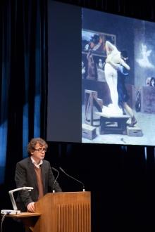 Bernd Scherer at the Opening Ceremony, transmediale 2013 BWPWAP.