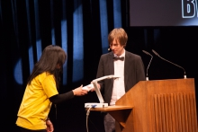 Kristoffer Gansing at the Opening Ceremony of transmediale 2013 BWPWAP