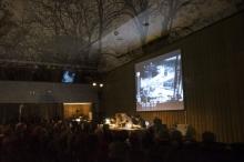 "Impression of the event ""Refunct Media Presentation"", transmediale 2013 BWPWAP."