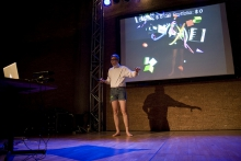 """""""The Future of Creativity"""" by Jeremy Bailey, transmediale 2012 in/compatible."""