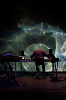 Joshua Light Show ft. Manuel Göttsching, transmediale 2012 in/compatible.