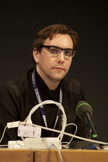 """Jacob Appelbaum at """"Anonymous Codes: Disruption, Virality and the Lulz"""", transmediale 2012 in/compatible"""