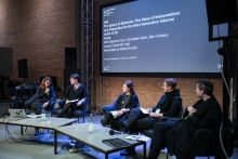 The Space In-Between: The Value of Interpretation and Interaction for the Next Generation Internet at transmediale 2018 face value.
