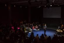 Kyriaki Goni at the talk Living Networks