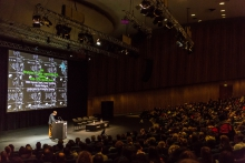 Impression of the Structures of Feeling – transmediale 2019 Opening