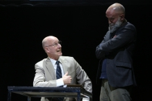 John Julian and Jamie Allen during Double Counting: The Odum Oration