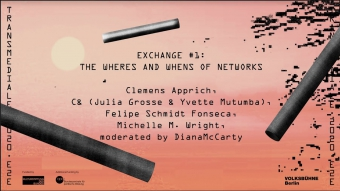 Exchange #1: The Wheres and Whens of Networks