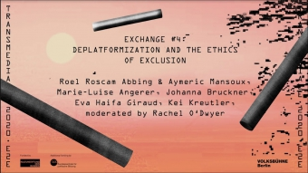 Exchange #4: Deplatformization and the Ethics of Exclusion