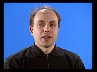 VideoFest '95   Blue Screen Interview with Axel Wirth (German)