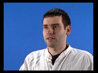 VideoFest '95   Blue Screen Interview Stefan Scholze (German)