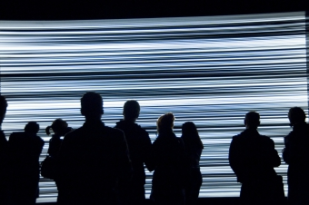 """Picture of """"White Noise"""", installation by ?ilvinas Kempinas"""