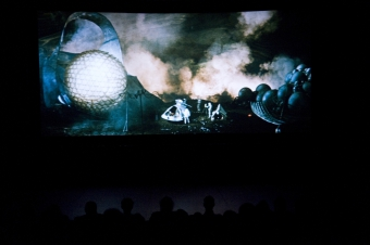 Performance at transmediale.10 FUTURITY NOW!