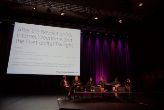 """Impression from """"After the revolution(s): Internet freedoms and the post-digital twilight"""""""""""