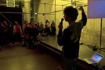 """Impression of """"Art Hack Day Berlin : Afterglow"""""""