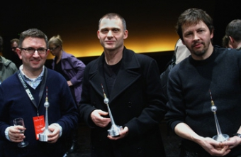 Winners of the transmediale.07 Award: Tim Shore, Herman Asselberghs & Antoine Schmitt