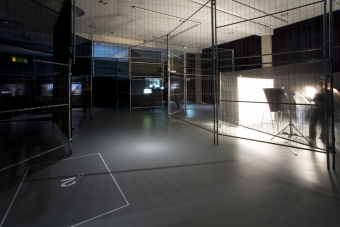 """Exhibition view """"Festival exhibition CAPTURE ALL"""", transmediale 2015."""