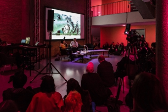 Impression of Book Launch: Shooting a Revolution. Visual Media and Warfare in Syria