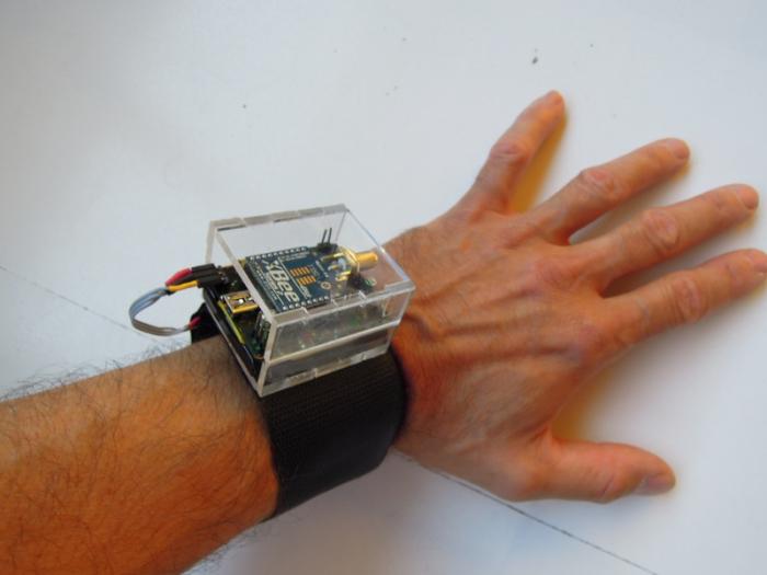UKI sensor, design by Martin Hug