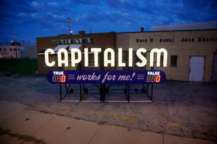 Steve Lambert. Capitalism Works for Me