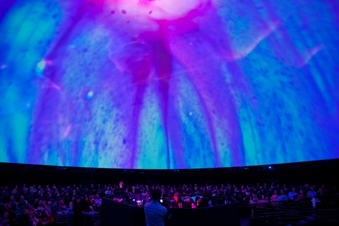 Joshua Light Show , Hayden Planetarium at the American Museum of Natural History