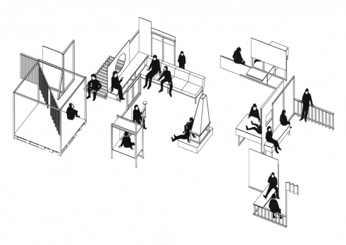 Festival architecture 2012 by raumlaborberlin