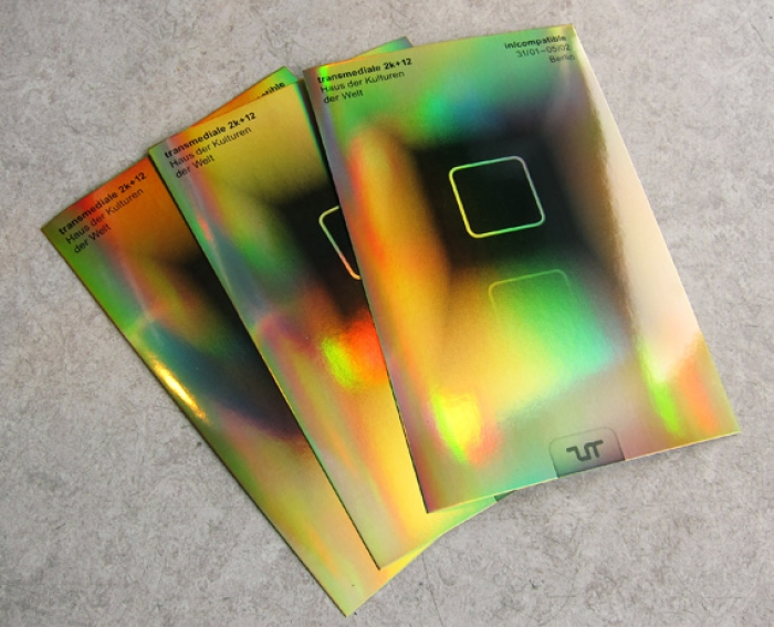 transmediale 2012 Design Manuel Buerger Timm Haeneke Till Wiedeck