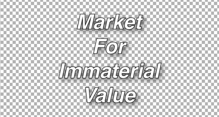 Market for Immaterial Value by Valentina Karga and Pieterjan Grandry