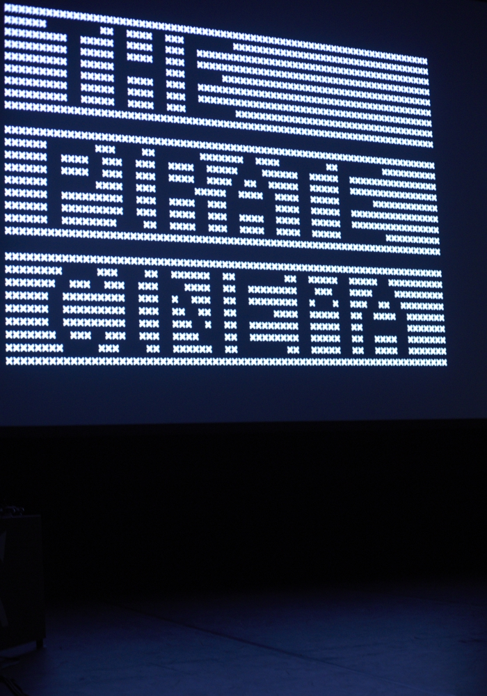 """Picture of """"The Pirate Cinema"""" by Nicolas Maigret & Brendan Howell"""