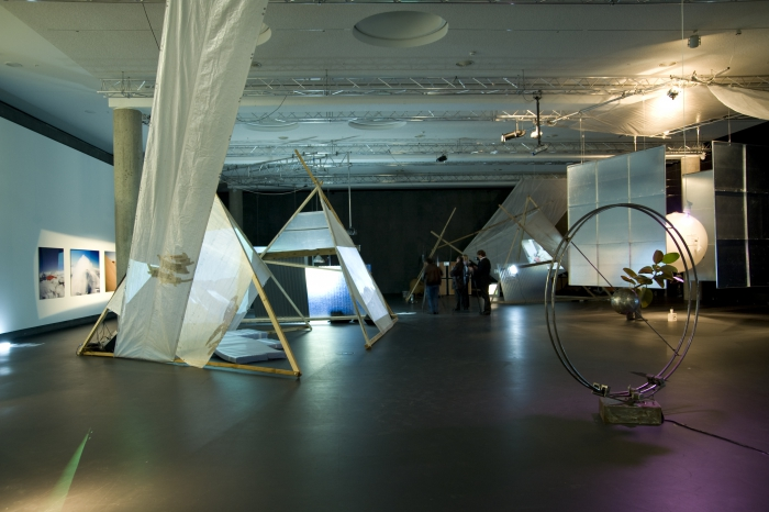 """Impression of the exhibition """"Survival and Utopia: Visions of Balance in Transformation"""""""