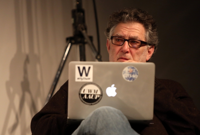 """Richard Grusin at """"Middle Session: The Elemental Middle"""", transmediale 2017"""