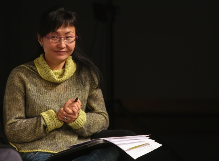 "Wendy Hui Kyong Chun at ""Middle Session: The Middle to Come"", transmediale 2017"